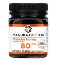 Manuka Doctor, Manuka Honey Multifloral, MGO 80+, 8.75 oz (250 g)