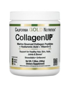 California Gold Nutrition, CollagenUP, Marine Hydrolyzed Collagen + Hyaluronic Acid + Vitamin C, Unflavored,