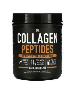 Sports Research, Collagen Peptides, Hydrolyzed Type I & III Collagen, Dark Chocolate, 1.42 lbs (644.11 g)