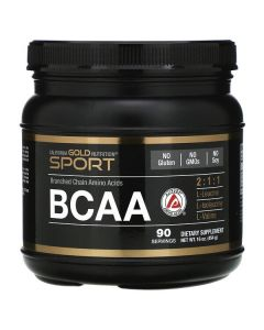 California Gold Nutrition, BCAA Powder, AjiPure®, Branched Chain Amino Acids, 16 oz (454 g)