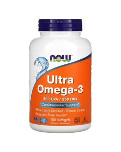 Now Foods, Ultra Omega-3, 180 Softgel
