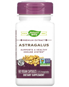 Nature's Way, Astragalus, 60 Vegan Capsules